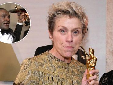 Homem que roubou o Oscar de Frances McDormand vai ter que acertar contas com a Academia
