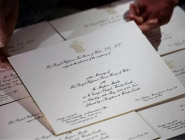Palácio de Kensington começa a enviar os convites para o casamento de Harry e Meghan Markle