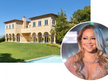 Mariah Carey aluga château em Beverly Hills por mais de R$ 120 mil mensais. Veja as fotos!