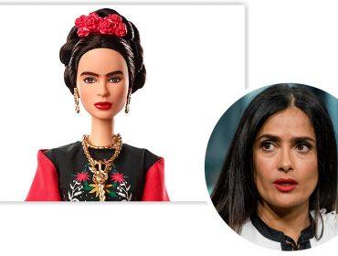 Salma Hayek Pinault solta o verbo por causa de Barbie inspirada em Frida Kahlo