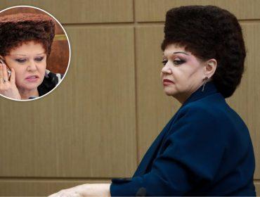 """Conheça a senadora russa que virou meme com o """"penteado mais estranho do mundo"""""""