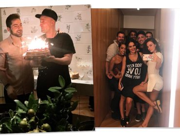 Paulo Gustavo arma festa de aniversário para o marido recheada de amigos famosos