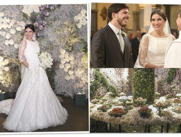 Todos os detalhes do casamento tipo conto de fadas de Luiza Valente e Murilo Nogueira