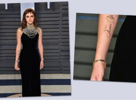 Emma Watson tira onda no Twitter e abre vaga para revisor de tatuagem temporária. Oi?
