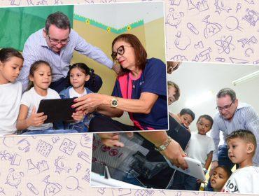 """Vivo promoveacesso à tecnologia para crianças carentes em nova etapa de projeto """"Aula Digital"""""""