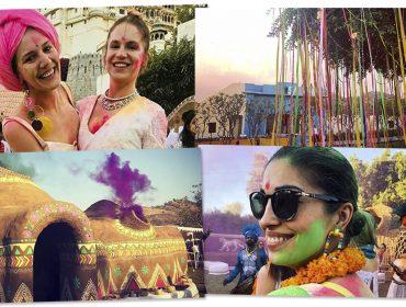 O jetset internacional invadiu Udaipur, no Rajastão, para um fim de semana de festas mil