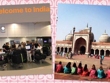 Turma de glamurettes desembarca na Índia e a gente mostra o roteiro que começou por Nova Délhi