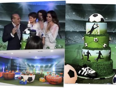 Luciana Gimenez e Marcelo de Carvalho juntos para comemorar o aniversário do filho em SP