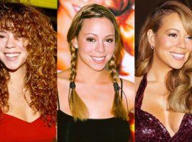 No dia de seu aniversário, os beauty moments inesquecíveis de Mariah Carey