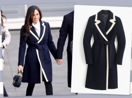 Meghan Markle se inspira em Kate Middleton para brilhar com look de R$ 11 mil