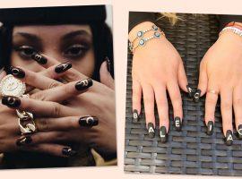 Esmaltes com logo de marcas de luxo é nova febre das fashionistas. Vem ver!