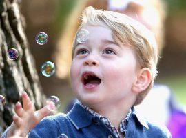 Futuro rei da Inglaterra, o príncipe George sonha mesmo em ser… Vem saber!