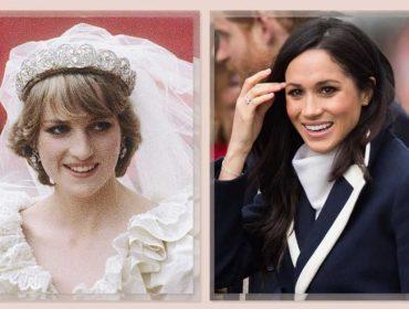 Meghan Markle deve usar joia rara de Lady Di em seu casamento. Qual?