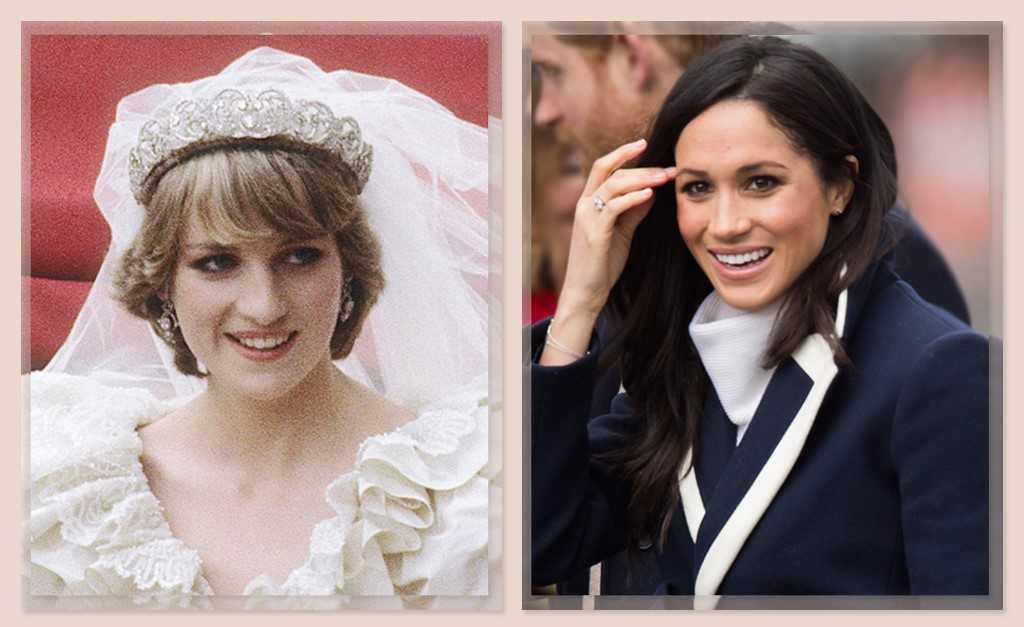 188e262441f Lady Di com a tiara batizada Spencer que Meghan vai usar em seu casamento