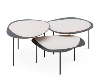 Lá em Casa: design e função com o trio de mesas criado por Luciana Martins e Gerson de Oliveira