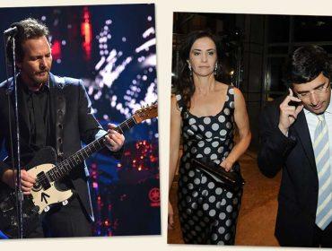 Lilian e Andre Esteves recebem Pearl Jam para almoço em prol da Amazônia