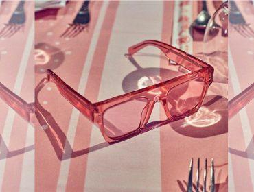 Desejo do Dia: pink mood com os óculos de sol Icy Ice de Stella McCartney