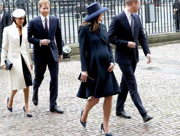 Na primeira aparição ao lado da rainha, Meghan Markle segue estilo de Kate para não errar no look