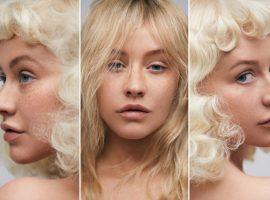 Christina Aguilera surge com visual inédito e sem maquiagem em capa de revista americana