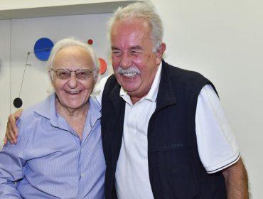 Abertura de exposição que celebra os 90 anos de Abraham Palatnik agita a turma artsy no RJ