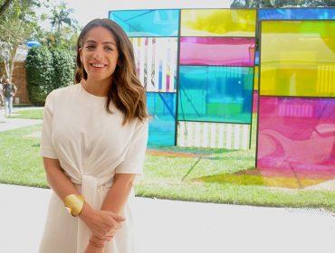 Camila Yunes reuniu turma artsy para lançamento da Kura