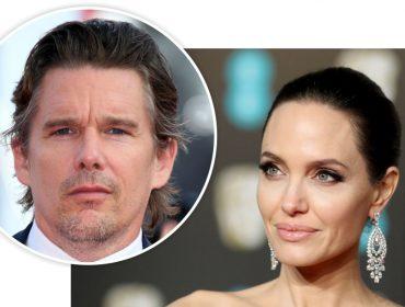 Angelina Jolie estaria de olho em certo ator famoso – e casado – com quem já contracenou