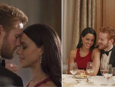 Saiu o primeiro trailer do filme sobre o príncipe Harry e Meghan Markle. Play!