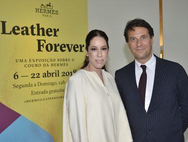 """Abertura da exposição """"Leather Forever"""", da Hermès, agitou o Iguatemi São Paulo"""