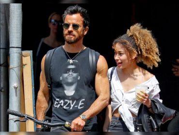 Mais sarado, ex de Jennifer Aniston é visto com morena misteriosa