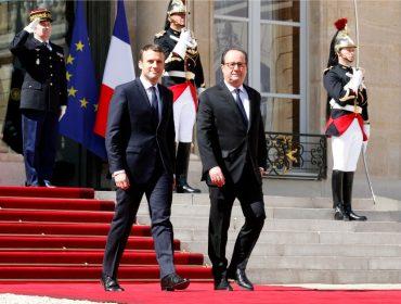 """Novo doc traz à tona suposto """"golpe"""" que François Hollande tentou aplicar em Emmanuel Macron"""