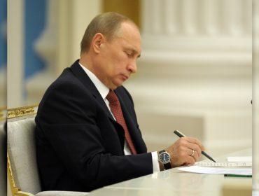 Caneta-tinteiro que pertenceu a Putin bate recorde em leilão e é vendida por R$ 268,8 mil