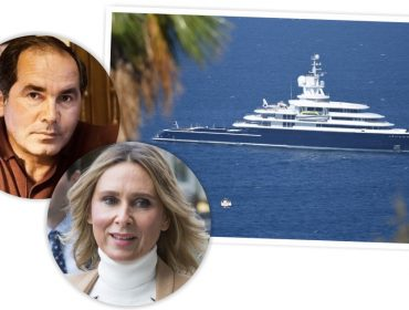 Bilionário russo perde megaiate de 115 metros em processo de divórcio épico
