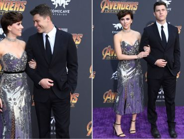 "Scarlett Johansson apresenta novo namorado na première de ""Vingadores: Guerra Infinita"""