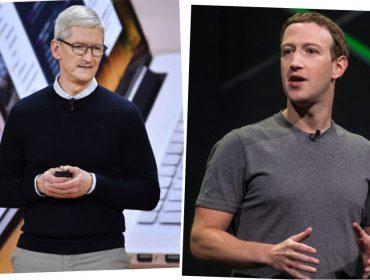Cada vez mais isolado, Mark Zuckerberg decide voltar sua artilharia contra Tim Cook