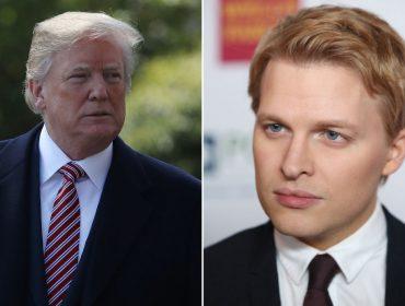 Depois de contribuir para a queda de Harvey Weinstein, Ronan Farrow mira Trump