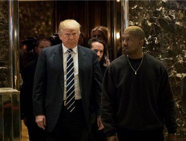 Kanye West reclama de Obama e aproveita para declarar seu amor por Trump…Oi?