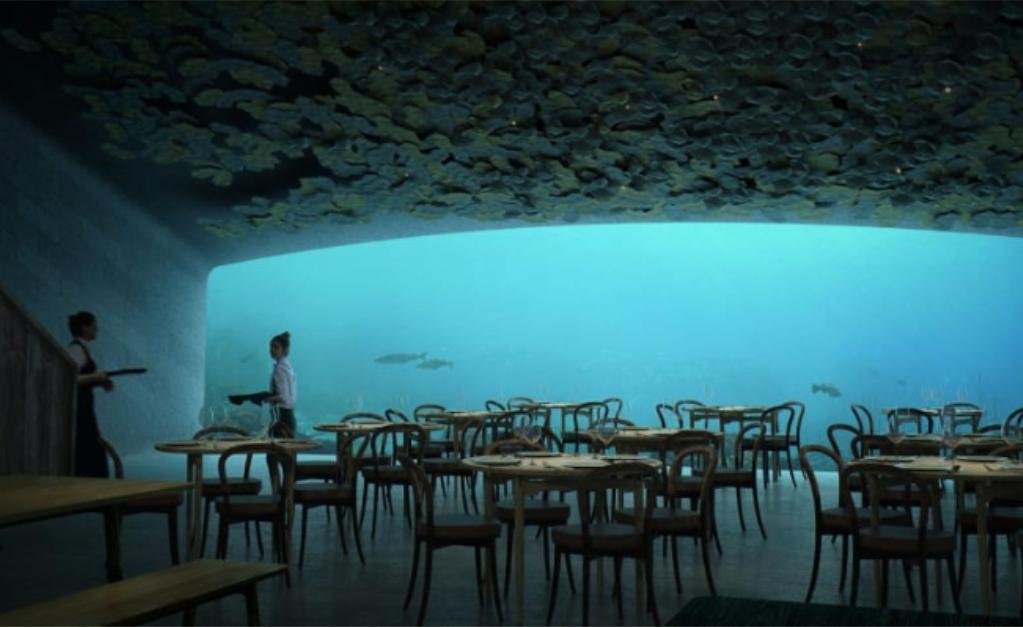 22591af66c5 Noruega terá restaurante de luxo no fundo do mar  aos detalhes ...