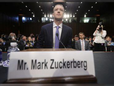 Enquanto era sabatinado por senadores dos EUA, Zuckerberg faturava alto na bolsa