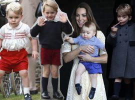Glamurama entrega o motivo do short ser a marca registrada do príncipe George faça frio ou calor