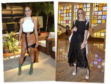 Assimetria ganha destaque entre as bem vestidas em semana dominada pela moda
