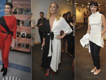 Looks minimal-chic com toques de vanguarda se destacam entre as bem vestidas da semana