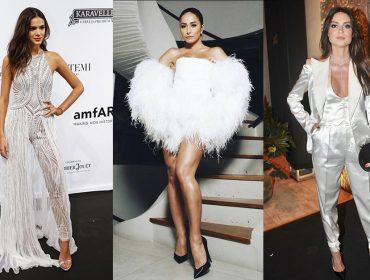 Glamurama mostra quem vestiu o que na 8ª edição do gala da amfAR em São Paulo
