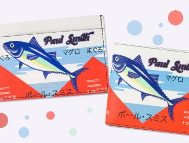 Desejo do Dia: carteira e porta-cartão Paul Smith inspirados em famoso mercado de peixes