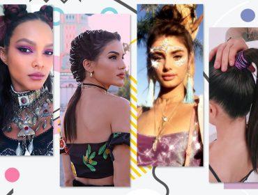 Rabo de cavalo, tranças e scrunchies: as tendências de beleza que estão bombando no Coachella
