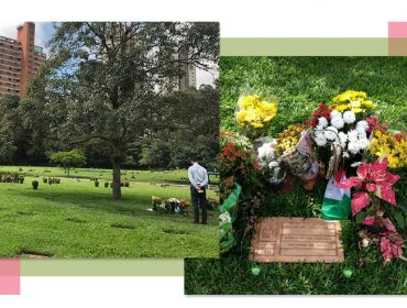 Em passagem por SP, herdeiro da Lamborghini faz homenagem no túmulo de Ayrton Senna