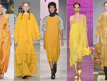 Saiba tudo sobre a cor mais quente de 2018: o amarelo iluminou a semana de moda