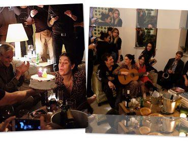 Paula Lavigne comemorou aniversário cercada de amigos e música em NY. Viva!