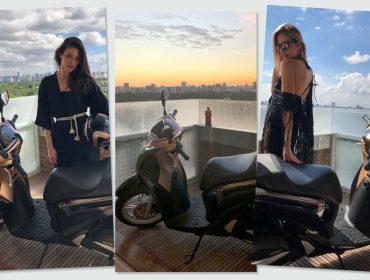 Stella Jacintho apresenta inverno da Thelure com participação especial da Honda Motors