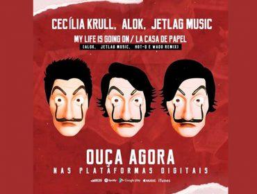 """Tema de """"La Casa de Papel"""" ganha remix feito pelos brasileiros Alok e JetLag Music"""