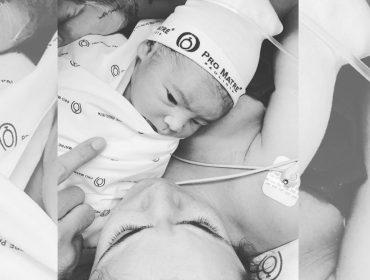 Renata Vanzetto comemora nascimento do primeiro filho, Ziggy. Aos detalhes!